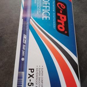 Bolpoint E-Pro 0,7 mm Tinta Biru