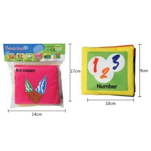 mini buku bantal / edukasi anak / playbook