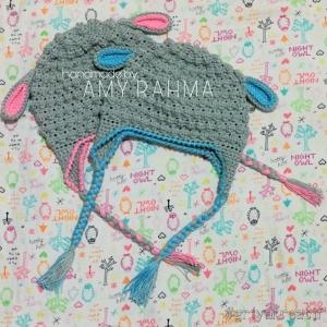crochet hat & baby booties